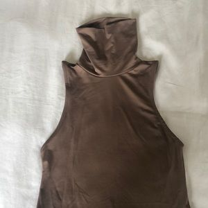 Zara sleeveless turtleneck
